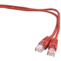 [04-ANEAHE0498] Cable de xarxa RJ45 Cat.5e UTP Gembird (3m, Vermell)