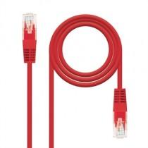 [04-ANEAHE0595] Cable de xarxa RJ45 Cat.5E UTP NanoCable (1m, Vermell)