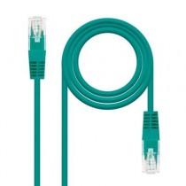 [04-ANEAHE0630] Cable de xarxa RJ45 Cat.6 UTP NanoCable (3m, AWG24, Verd)
