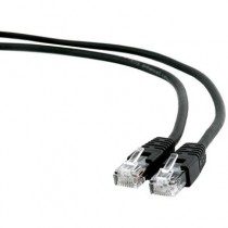 [04-ANEAHE0655] Cable de xarxa RJ45 Cat.6 UTP Gembird (1m, Negre)