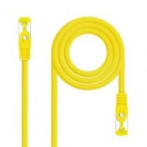 [04-ANEAHE0729] Cable de xarxa RJ45 Cat.6A SFTP NanoCable (2m, LSZH, Groc)