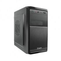 [04-ICACMM0173] Caixa microATX TooQ TQC-4735U3C-B (500W, USB 3.0, Lector de targetes)