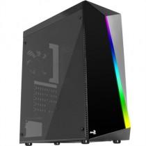 [04-ICACSM0494] Caixa ATX AeroCool SHARD (USB 3.0, RGB, Gaming, Negre)