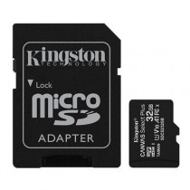 [04-MTMSDM0219] Targeta microSDHC 32GB Kingston (Classe 10, UHS-I, + adaptador)