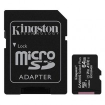 [04-MTMSDM0220] Targeta microSDXC 64GB Kingston (Classe 10, UHS-I, + adaptador)