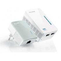 [04-NADPOW0074] PLC HomePlug AV 500Mbps TP-Link TL-WPA4220KIT (WiFi 300Mbps, Kit x1+1)
